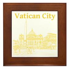 VaticanCity_12X12_SaintPetersSquare_1Y Framed Tile
