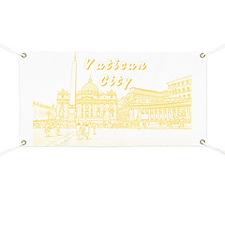 VaticanCity_17.2X11.5_SaintPetersSquare_Yel Banner