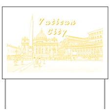 VaticanCity_17.2X11.5_SaintPetersSquare_ Yard Sign