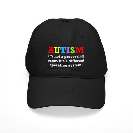 Autism awarness Black Cap