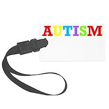 Autism awarness Luggage Tag