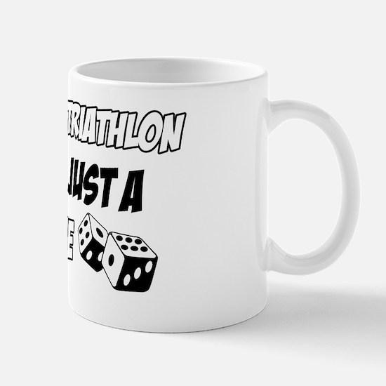 Triathlon vector designs Mug