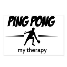 Ping pong table tennis ve Postcards (Package of 8)