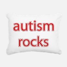 Autism rocks Rectangular Canvas Pillow