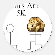 Noahs Ark 5K Round Car Magnet