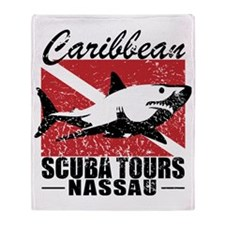 Caribbean Scuba Tours Throw Blanket