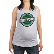 Kirkwood Mountain Resort Ski Re Maternity Tank Top