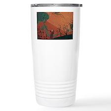 Where Lucy Goes To Play Travel Coffee Mug