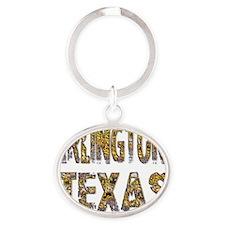 Arlington Texas 1 Oval Keychain