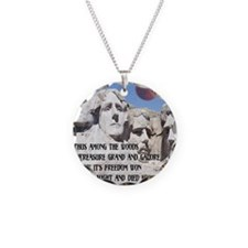Mt. Rushmore The Quest Necklace