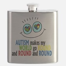 Autism makes my world go round and round and Flask