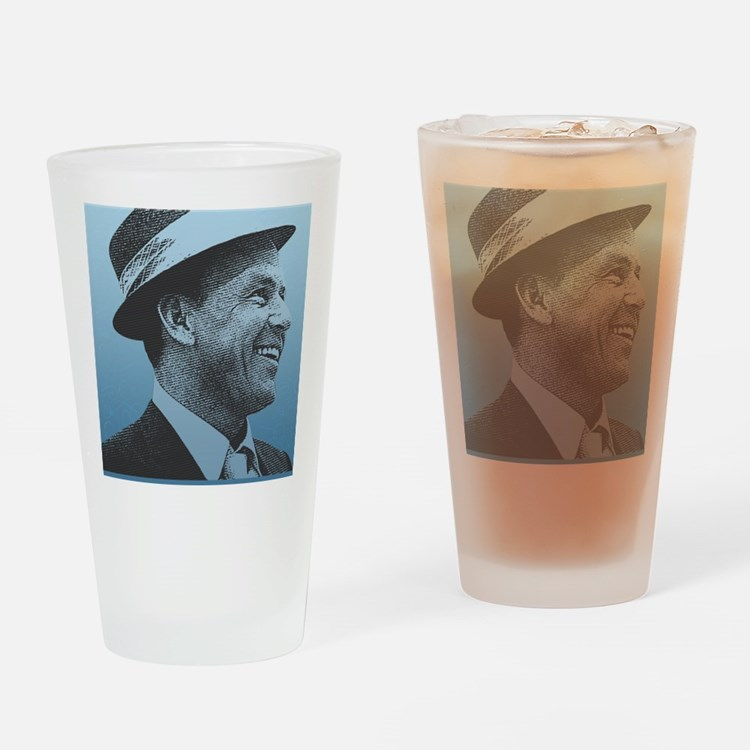 SINATRA: Confidence Is King Journal Drinking Glass