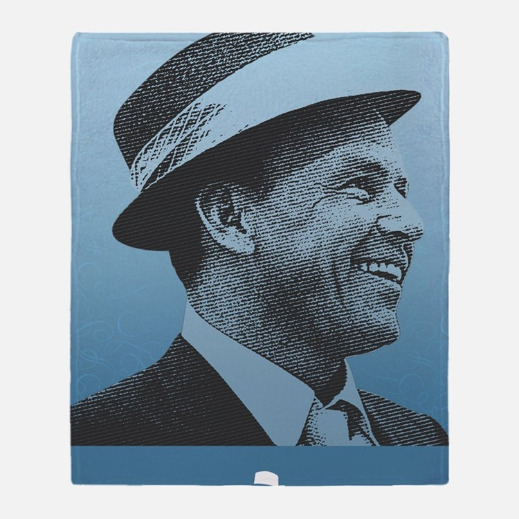SINATRA: Confidence Is King Journal  Throw Blanket