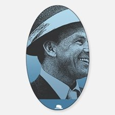 SINATRA: Confidence Is King Journal Sticker (Oval)