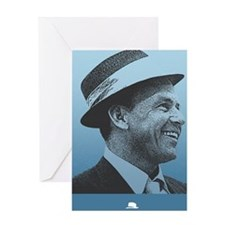 SINATRA: Confidence Is King Journal  Greeting Card