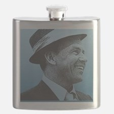SINATRA: Confidence Is King Journal Front Flask