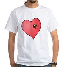 Autism is in my heart Shirt