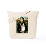 MonaLisa-Tri Aussie Shep2 Tote Bag