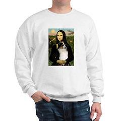 MonaLisa-Tri Aussie Shep2 Sweatshirt