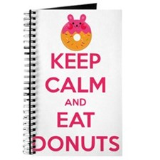 Keep Calm And Eat Donuts Journal