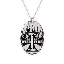 WildFire Iron Cross Pulaski Necklace
