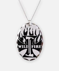 WildFire Iron Cross Pulaski Necklace