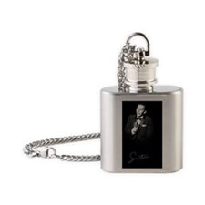 SINATRA: Performing Journal Front Flask Necklace