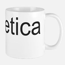 The Helvetica Joke Mug