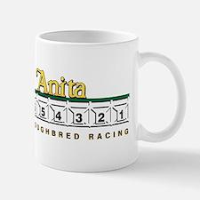 Santa Anita Thoroughbred Racing Mug