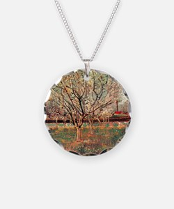 Orchard in Blossom, Plum Tre Necklace