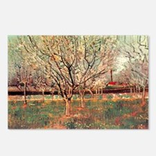 Orchard in Blossom, Plum  Postcards (Package of 8)