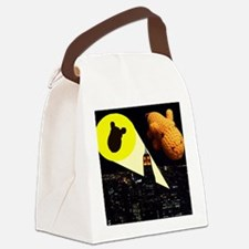 Gotham Hippo Canvas Lunch Bag