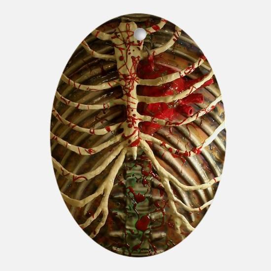 Ribcake Oval Ornament