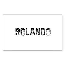 Rolando Rectangle Decal