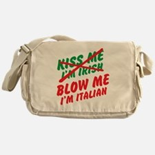 Don't Kiss Me Messenger Bag