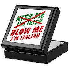 Don't Kiss Me Keepsake Box