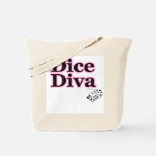 Dice Diva Tote Bag