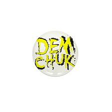 DJ Demchuk Shadow Logo Mini Button