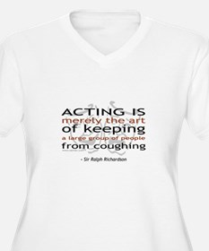 Sir Ralph Richardson Quote T-Shirt