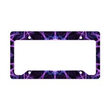 Amethyst Desire License Plate Holder