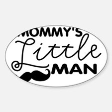 Mommys Little Man Stickers