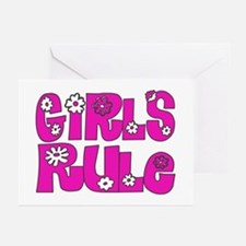 ...Girls Rule... Greeting Cards (Pk of 10)