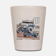 Wheel stand Shot Glass