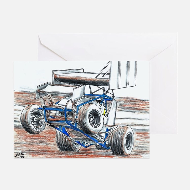 Wheel stand Greeting Card