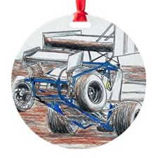 Wheel stand Ornament