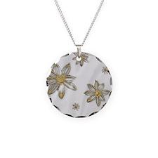 Glitter Daffodils Necklace