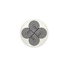 Cherokee Four Directions Mini Button