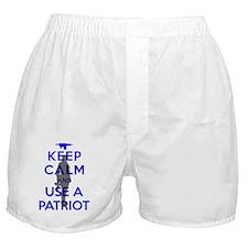 Keep Calm - The Boss - Metal Gear Sol Boxer Shorts