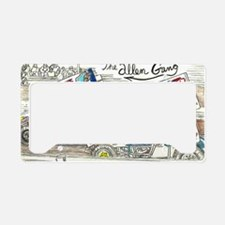 The Allen Gang License Plate Holder