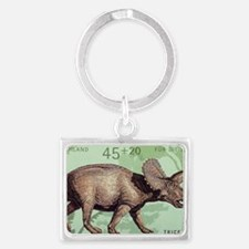 2008 Germany Triceratops Postag Landscape Keychain